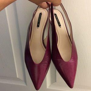 Shoes - Zara kitten heels